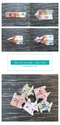 Simple guide for cute fish. All instructions are on Geschenke.de by geschenke_de Xmas Gifts, Christmas Presents, Diy Gifts, Great Gifts, Diy Cadeau Noel, Cute Fish, Experience Gifts, Mom Day, Best Dad