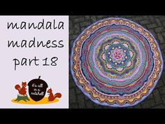 Free Pattern: http://www.crystalsandcrochet.com/mandala-madness-part-18/ Yarn & colors used: http://wp.me/p5j7RG-13n Step-by-step instructions for making par...