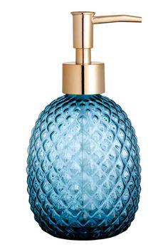Glass soap dispenser | H&M