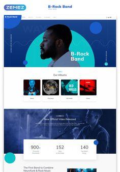Site Web Design, Website Design Layout, Web Layout, Website Design Inspiration, Page Design, Blue Website, One Page Website, Mom Website, Event Website