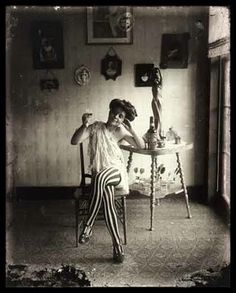 E.Bellocq pic. Of lady with her Raleigh Rye. Her tights were very expensive at this time.