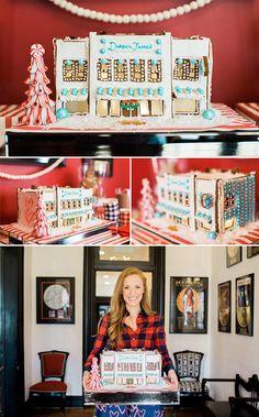 Gingerbread House replica of the Nashville Draper James store.