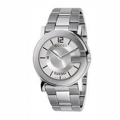 Ανδρικό quartz ρολόι GUCCI G με ατσάλινο μπρασελέ 6447a5fc354