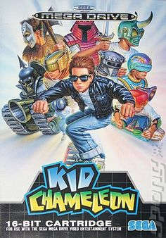 Saga MegaDrive: Kid Chameleon