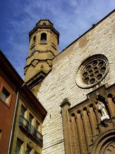 Campanar de Calaf - Catalonia Barcelona, Pisa, The Good Place, Tower, Building, Places, Travel, Paths, Viajes