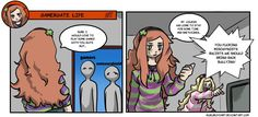 Read the whole Gamergate life serie in my website: http://kukuruyo.com/comic/gamergate-life-1/ … #GamerGate #NotYourShield