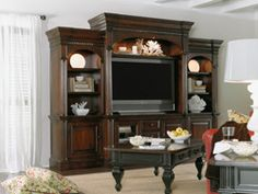 New Castle Ii Entertainment Wall Unit By Furniture