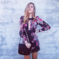 Chiara Ferragni does it again in floral, and we love it. #theblondesalad #floral