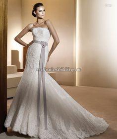 Frase Bridal Gown (2011) Designer Bridal Inspirations Pronovia Jasmine's Bridal Shop - Wedding Dress, Cocktail Dress, Bridal Accessories