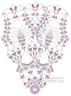 Materiales gráficos Gaby: 6 Carpetas tejidas en ganchillo