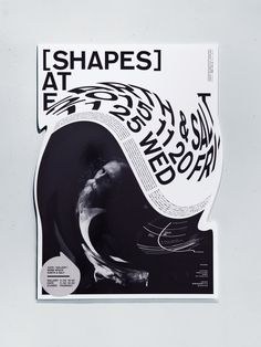 """Exhibition """"SHAPES"""" at Earth&Salt Exhibition posters / ONE SHOW 2016 Gold Pencil [ Poster Category ]"""