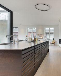 marmorplade køkken