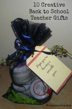 10 Creative Back to School Teacher Gift Ideas