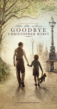 Directed by Simon Curtis.  With Margot Robbie, Domhnall Gleeson, Kelly Macdonald, Phoebe Waller-Bridge. A behind-the-scenes look at the life of author A.A. Milne and the creation of the Winnie the Pooh stories inspired by his son C.R. Milne.