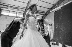 #AlessandroAngelozziCouture #FabrizioFerriPhotographer #BackstageCollection2015 #WeddingDress #BiancaBaltiTestimonial