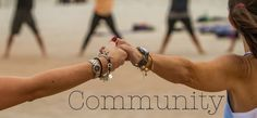 Come together! Yoga Flash Mob in Ormond Beach hosted by Yoga Apparel Company | Twin Flame. COMMUNITY