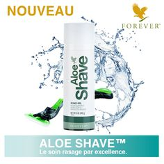 NOUVEAU !!! A base d'Aloe Vera, ce nouveau gel de rasage est un condensé…