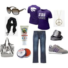 K-State game day look #3