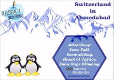 #Heavenly whiteness of the snowfall, falling on you and freezing you completely in this #iceberg #Snowworld is a magical moment to capture. #Ahmedabad's top notch picnic place to be in this #Summer. #Playing and throwing #snowballs on each other, climbing through the rope and enjoying the #Thunderstorm as being in #Switzerland. Visit us @ first floor, Devarc Mall, Iscon cross roads, S.g.highway, Ahmedabad. Spreading a cool magic this #summer.