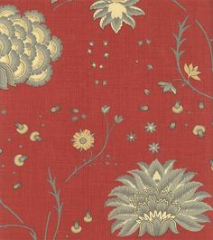 Reproduction Fabrics - turn of the 19th century, 1775-1825 > fabric line: Rouenneries Deux