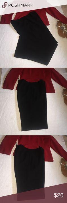 """Black Le Suit Pants Nice Black Le Suit Pants Size 14. Excellent Dress Pants. Inseam 30"""" . In excellent condition and these pants are Lined. Le Suit Pants Trousers"""