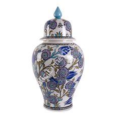 Kişiye Özel Hediyeler   Kalıcı, Orijinal Geleneksel El Sanatları ~ Şah Vazo (Çini)