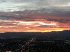 El cielo desde Las Vegas