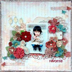 #prima marketing en francais collection. Love the color combo!