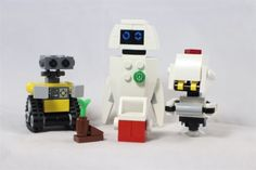 LEGO-Custom-Wall-E-EVE-M-O-Combo-Pack-Build-Your-Own-Set-NEW-Limited-Edition