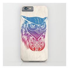 Owl Of Color iPhone 6s Case ($35) ❤ liked on Polyvore featuring accessories, tech accessories and iphone & ipod cases