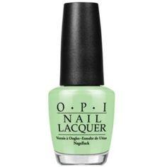 Opi Nail Lacquer Nail Polish, Gargantuan Green Grape (470 PHP) ❤ liked on Polyvore featuring beauty products, nail care, nail polish, green, opi nail lacquer, peel nail polish, opi nail color and opi nail varnish