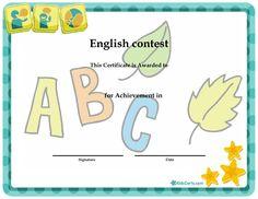 English contest -