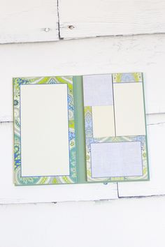 Book of Sticky Notepads {Sardinia Paisley}