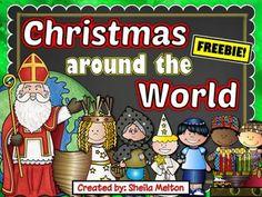 Christmas Around the World FREEBIE!