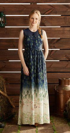 Só na Antix Store você encontra Vestido Longo Picnic com exclusividade na internet