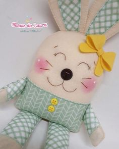 Ambrosial Make a Stuffed Animal Ideas. Fantasting Make a Stuffed Animal Ideas. Sewing Crafts, Sewing Projects, Craft Projects, Craft Ideas, Bunny Crafts, Easter Crafts, Sewing For Kids, Baby Sewing, Patchwork Baby