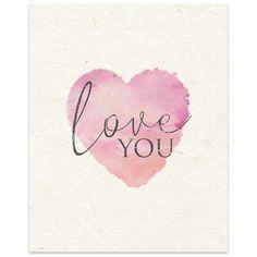 "Kavka Love You' by Terri Ellis Graphic Art in Tan Size: 14"" H x 11"" W x 0.01"" D"