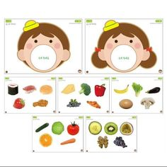 Learning Phonics, Toddler Learning Activities, Montessori Activities, Language Activities, Kids Learning, Preschool Food, Body Preschool, Preschool Crafts, Art For Kids