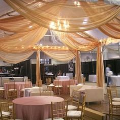 tent drapping....possible for the patio that my wedding ceremony will be held?