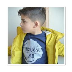 Rain rain go away! The Bravest Of Them All t-shirt by Quirkie Kids. Gender Neutral. Made in the USA. Find it here: http://www.quirkiekids.com/#!product/prd14/3630621781/the-bravest-of-them-all---navy