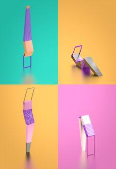 Fabrice Le Nezet - Aerobic prints - Spring/Summer 2012
