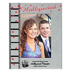 Silver Hollywood Stars Custom Photo Frame