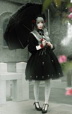 Ista Mori -Nameless Poem- Gothic Lolita OP Dress #Leftovers (SAME DAY SHIPPING)