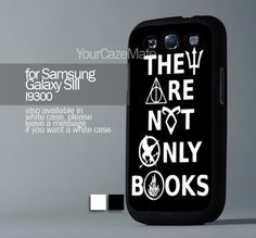 divergent hunger game harry potter , For Samsung s3 Hard Plastic Black | YourCazeMate - Accessories on ArtFire