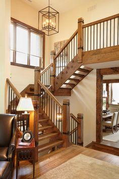 The Cottage - Photography: John Trigiani URL: www.parkyndesign.com - Category: Staircase - Style: Rustic - Location: Toronto