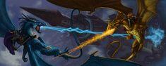 Dragonlance by StawickiArt on deviantART