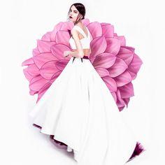 "Blooming Dahlia. PH— @notyouramericandream  Models — Anna Kibik ""Andy Fiord Models"", @ann_prrr996  MUA — Polina Vinogradova  Style/Fashion designer — @aleksandraberesnevadesign . #igladesign #fashion #art #flowers #design #fashiondesigner #designing #photography #photooftheday #photo #inspiration #style #woman #czech #dress #brand #prague #girl #instalike #instagood #photoofday #illustrationoftheday #copiky #aleksandraberesneva Fashion Art, Style Fashion, Fashion Design, Art Flowers, Prague, Dahlia, Anna, Bloom, Models"