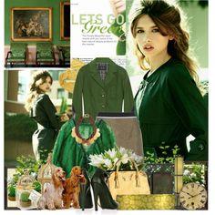 So green, created by barbarela11
