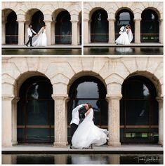 Bride and Groom Reflection Pool UWA | University of Western Australia | Perth Wedding | Trish Woodford Photography Reflection Pool, Western University, Wedding Photos, Wedding Day, Western Australia, Perth, Family Photographer, Palace, Photo Ideas