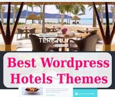Best WordPress Hotels Themes